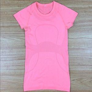 Lululemon Pink Swiftly Tech Run Shortsleeve Tee 4